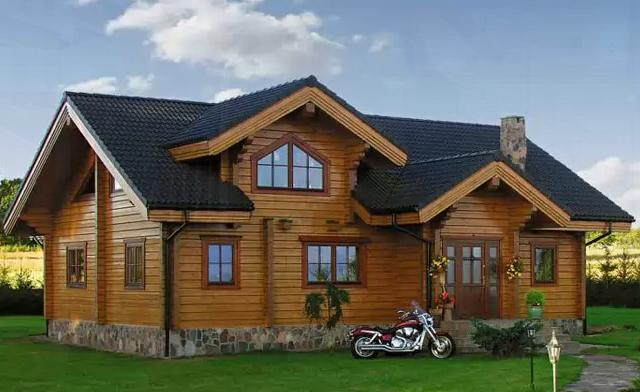 Kupić Domy mieszkalne z bali drewnianych