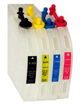 Kupić Staw pustych kartridży wielokrotnego napełniania Brother DCP 130 / DCP 330 / DCP 350 / DCP 357 / DCP 540 / DCP 560 / DCP 770 / DCP 779 / MFC 240 / MFC 440 / MFC 465 / MFC 5460 / Fax 1360