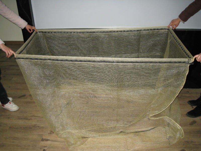Kupić Worek siatkowy do drewna kominkowego z ochroną UV, pojemność 1m3 i 1,5m3 - na palete euro i hydro