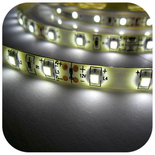 Kupić Wodoodporna taśma LED 12V 24W biała zimna / naturalna / ciepła.