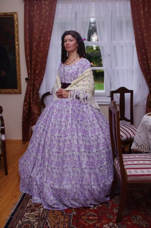 Kupić Suknia letnia XIXw