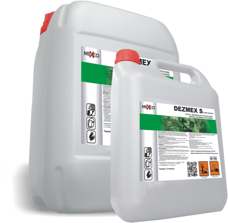 Kupić DEZMEX S Alkaliczny preparat myjąco-dezynfekujący