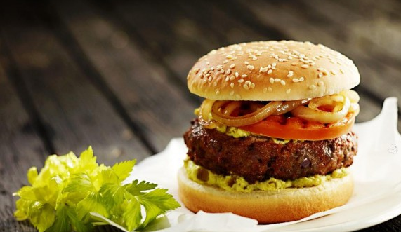 Kupić Mega kebabburger z kurczaka 130g