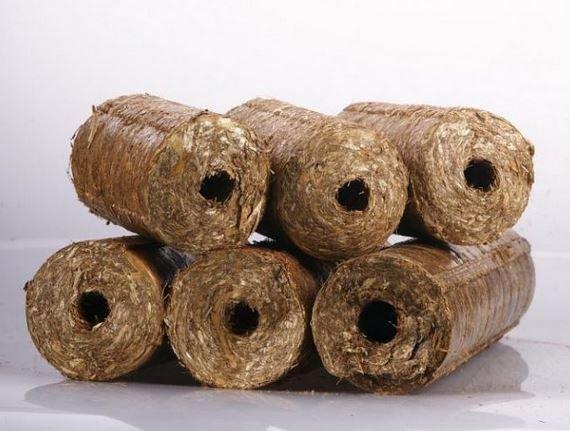 Kupić Brykiet ze słomy zbożowej, brykiety z biomasy agro