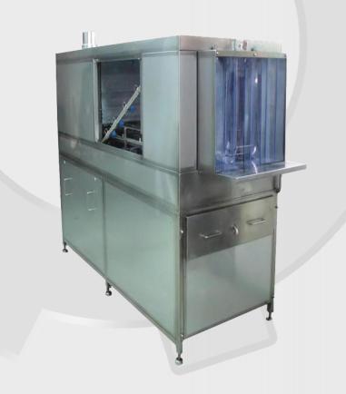 Kupić Tunelowa myjka pojemników do mycia i płukania pojemników