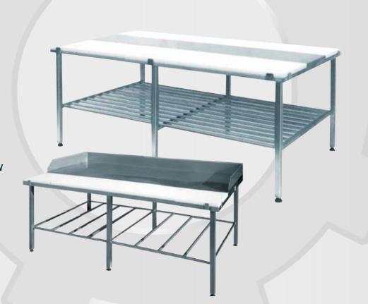 Kupić Stoły technologiczne ze stali nierdzewnej przeznaczone dla przemysłu spożywczego