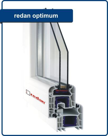 Kupić Okna PVC - Redan Optimum, Round Line