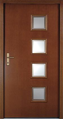 Kupić Drzwi wejściowe z drewna naturalnego.