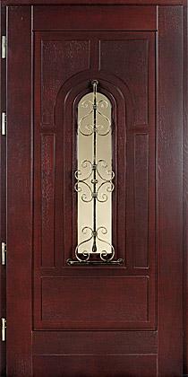 Kupić Drzwi wejściowe drewniane.