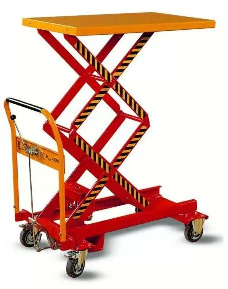 Kupić Wózki warsztatowe z podnoszona platformą