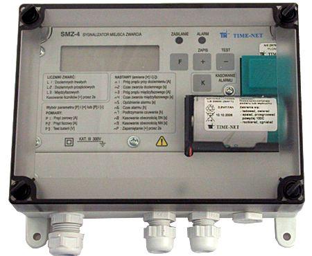Kupić Sygnalizatory zwarć doziemnych i międzyfazowych do sieci kablowych średniego napięcia, seria SMZ