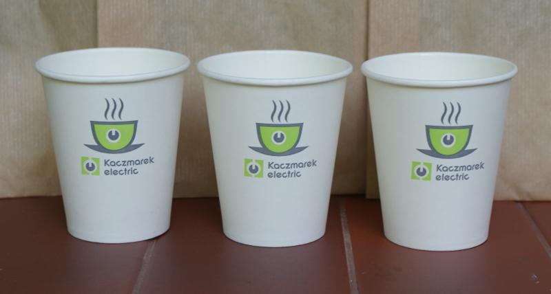 Kupić Papierowe kubki z logo klienta