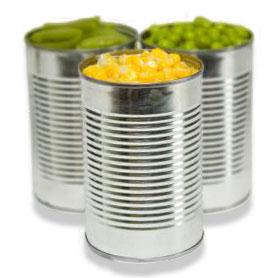 Kupić Żywność w puszkach, kukurydza, groszek