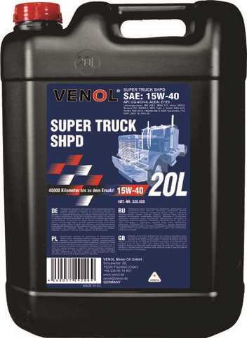 Kupić VENOL SUPER TRUCK SHPD 15W-40