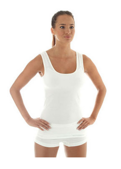 Kupić Termoaktywna koszulka damska bez rękawów Brubeck biała