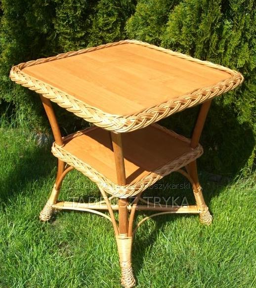 Kupić Stół ogrodowy wykonany z wikliny