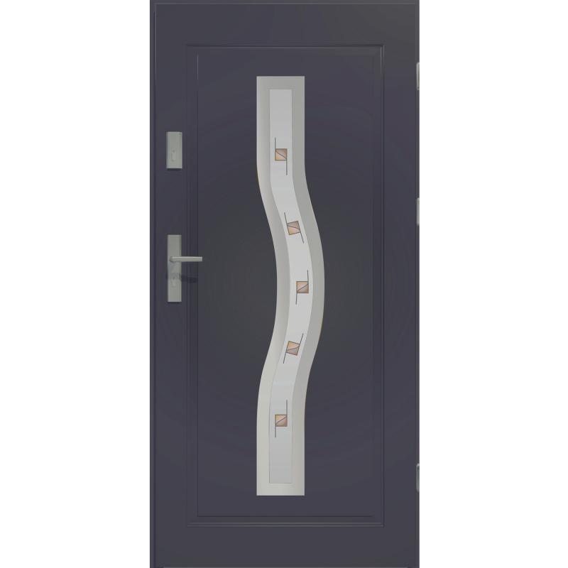 Kupić Drzwi stalowe CERES - przeszlone - Produkt Polski