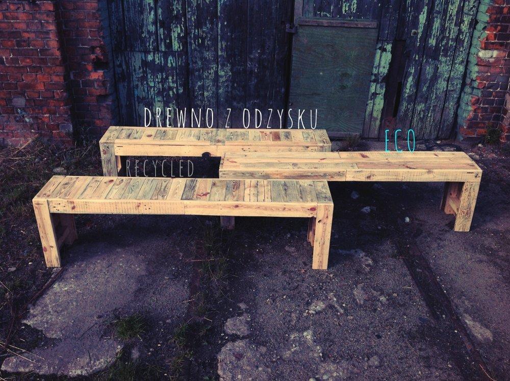 Kupić Drewniane ławki