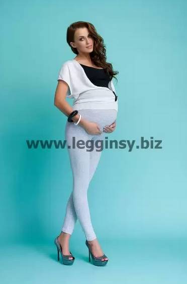 Kupić Legginsy ciążowe długie AVRILE marki INFATTI. Dostępne w rozmiarach: S, M, L, XL, XXL, XXXL, 9 kolorów
