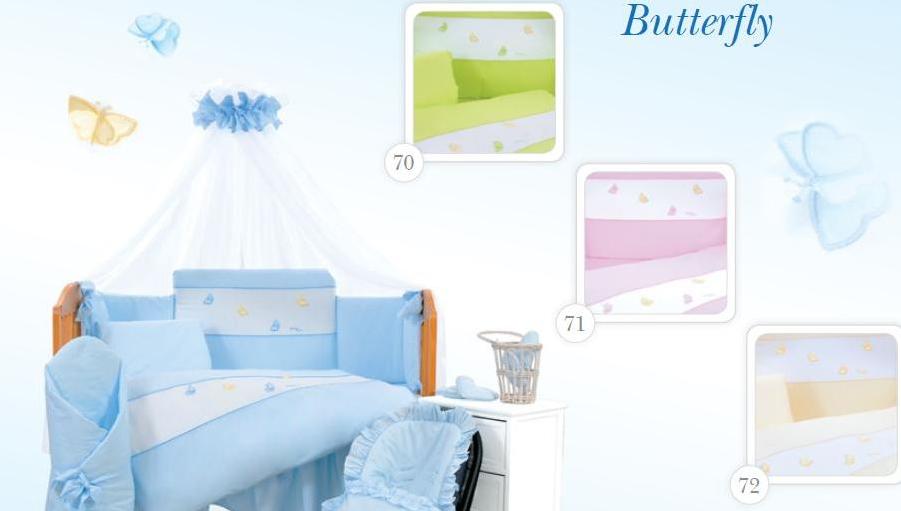 Kupić Pościel niemowlęca TUTTOLINA 4-elemetowa BUTTERFLY