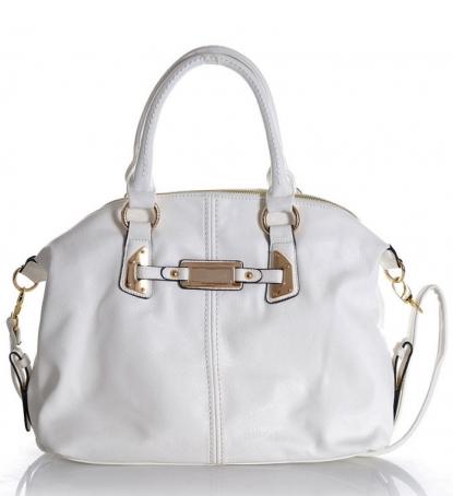 Kupić Markowa torebka biała ivory GUSSACI