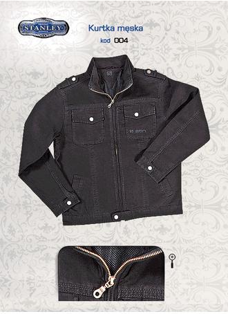 Kupić Wiosenne kurtka jeansowa czarna