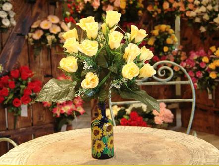 Kupić Bukiety ze sztucznych kwiatów