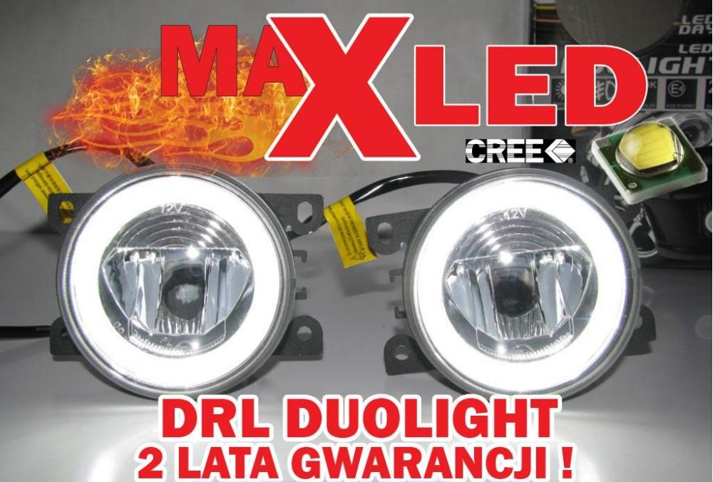Kupić Światła do jazdy dziennej LED DRL DUOLIGHT dzienne + przeciwmgielne