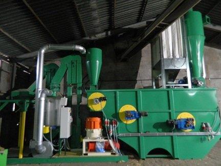 Linia do produkcji pelletu ze słomy