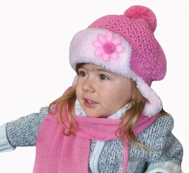 Kupić Czapka dziecięca zimowa z szalikiem 3234