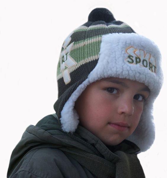 Kupić Czapka dziecięca zimowa z szalikiem 3229