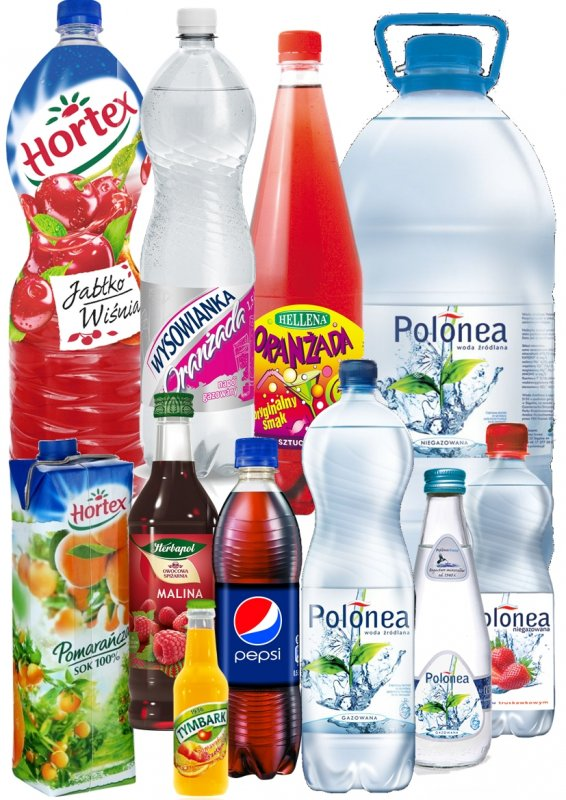 Kupić Wody, Napoje, Soki, Nektary