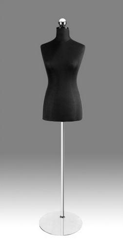 Kupić Manekiny wystawowe na stojaku chromowanym / szklanym