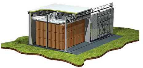 Kupić Suszarnie typu SK są suszarniami komorowymi wolnostojącymi o konstrukcji modułowej umożliwiającej budowę komór w układzie szeregowym.
