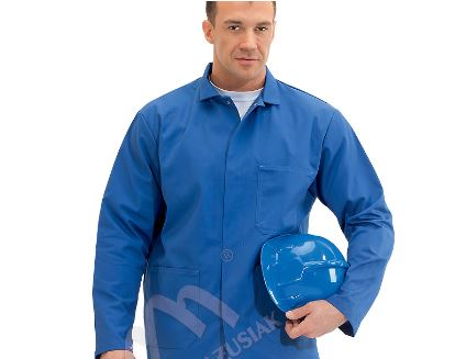 Kupić Bluza męska - kolor niebieski