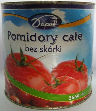 Kupić Pomidory bez skórki w puszce