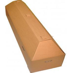 Kupić Trumny kremacyjne, trumna szara tektura