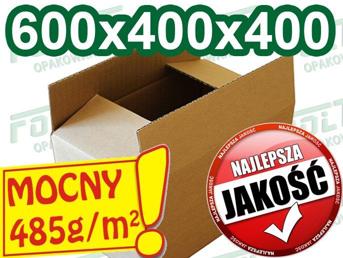 Kupić Karton klapowy 600x400x400