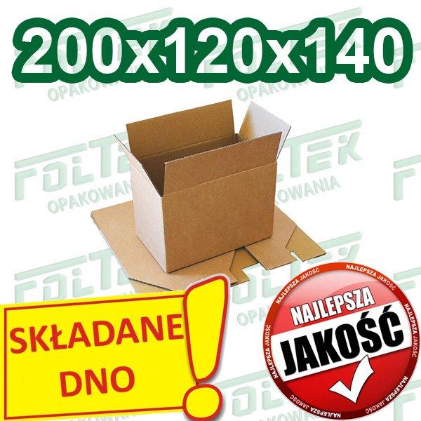 Kupić Pudła fasonowe ze składanym dnem 200x120x140