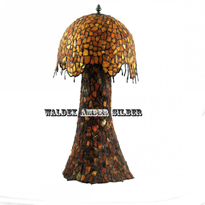 Kupić Lampa z bursztynu - grzyb