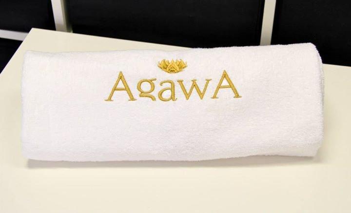Kupić Ręcznik frotte haftowany.