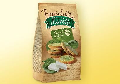 Kupić Bruschette Maretti szpinakowo-serowe
