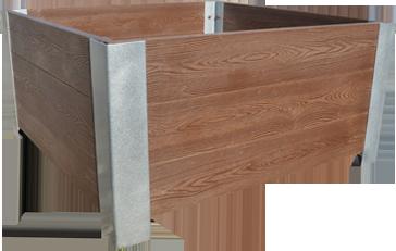 Kupić Estetyczne donice z drewna polimerowego