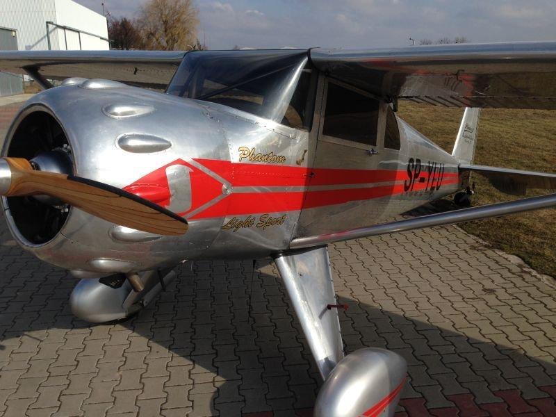 Kupić Luscombe Silvaire LSA-8-R Phantom II, jedyny w Europie egzemplarz doskonalego samolotu wielozadaniowego