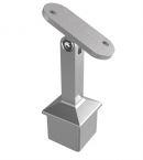 Kupić Podpora poręczy nastawna, wklejana w profil 40x40x2,0 mm, pochwyt baza płaska, stal nierdzewna AISI 304, szlif
