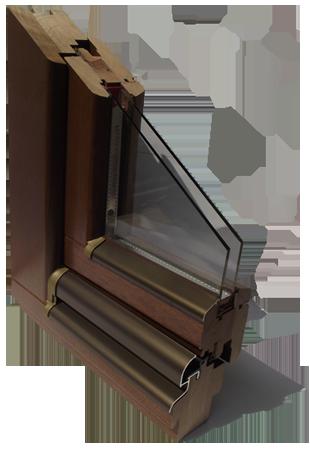 Kupić Ekskluzywne okna drewniane 68 mm