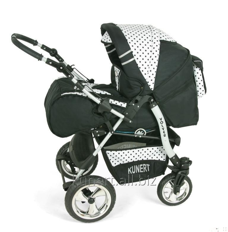 Kupić Wózek wielofunkcyjny VOLVER na kołach skrętnych , gondolka spacerówka oraz fotelik samochodowy.