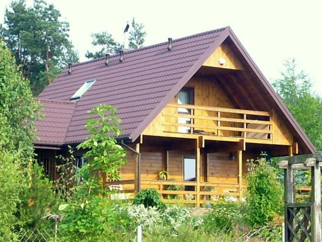 Kupić Dom mieszkalny drewniany z poddaszem użytkowym