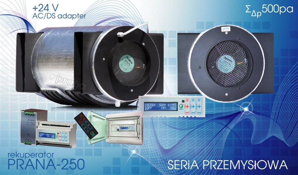 Kupić Rekuperator Prana-250 (650m3/h)