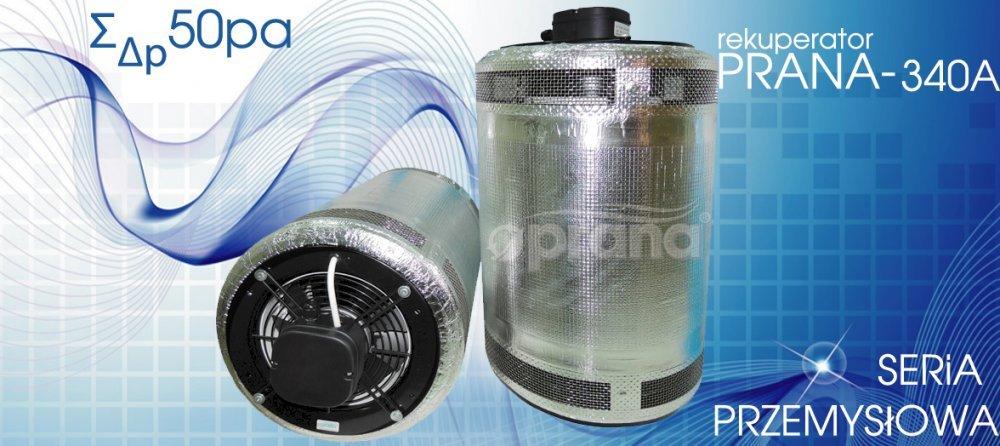 Kupić Przemysłowy rekuperator Prana-340A (540m3/h)